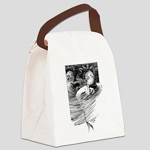 Mermaid Dreams Canvas Lunch Bag