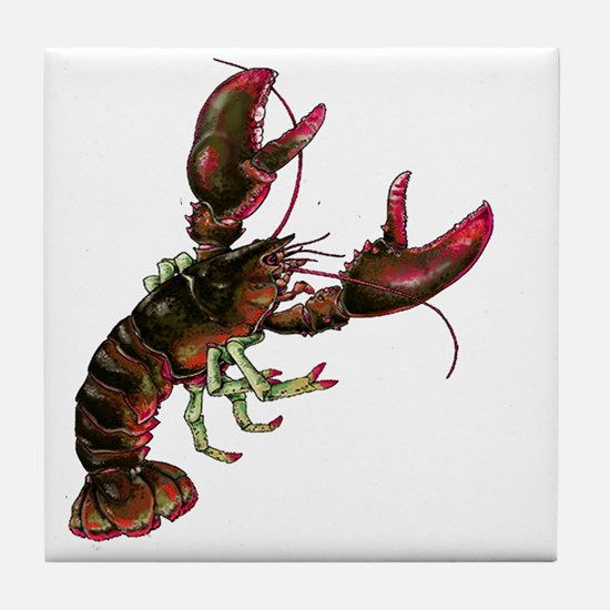 Cute Dungeness crab Tile Coaster