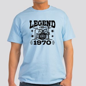 Legend Since 1970 Light T-Shirt