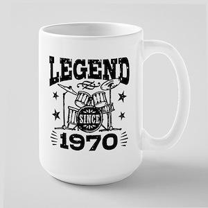 Legend Since 1970 Large Mug