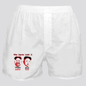 Happy or mad. Boxer Shorts