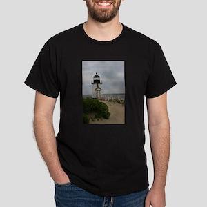 Brandt Point Lighthouse Nantucket MA T-Shirt