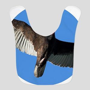 Turkey Vulture in Flight Bib