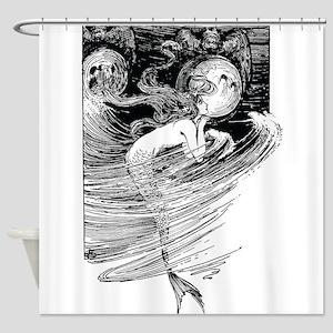 Mermaid Dreams Shower Curtain