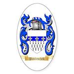 Pavlitschek Sticker (Oval)