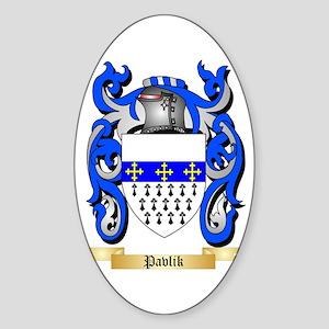 Pavlik Sticker (Oval)