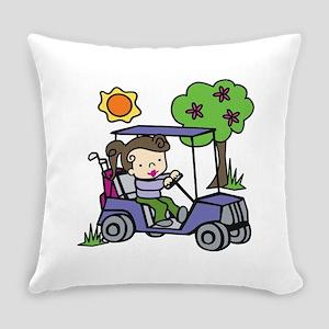 Golf Cart Driver Everyday Pillow