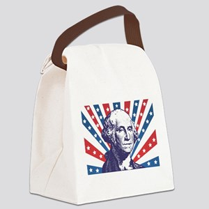 george washington Canvas Lunch Bag