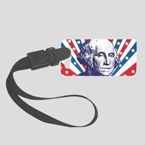 george washington Small Luggage Tag