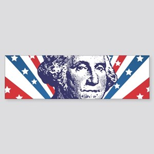 george washington Bumper Sticker