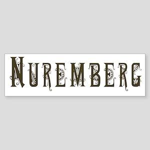 Nuremberg Bumper Sticker
