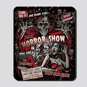Horror Movie Monsters Spook Show Mousepad