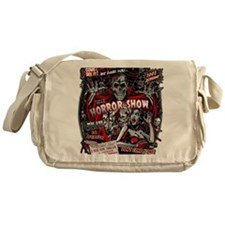 Horror Movie Monsters Spook Show Messenger Bag