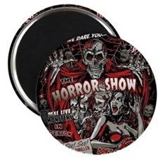 Horror Movie Monsters Spook Show Magnet