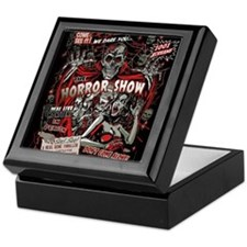 Horror Movie Monsters Spook Show Keepsake Box
