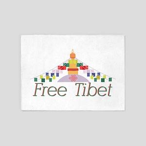 Free Tibet 5'x7'Area Rug