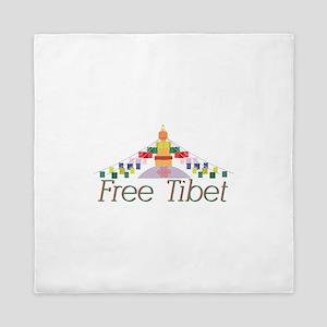 Free Tibet Queen Duvet
