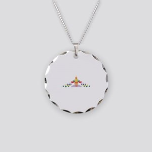 Tibetan Prayer Flags Necklace