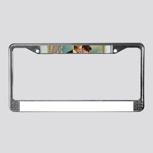 victorian valentine License Plate Frame