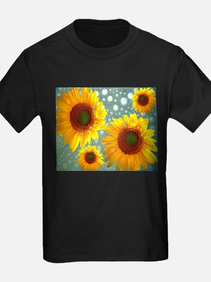 Happy Bubbly Sunflowers T-Shirt