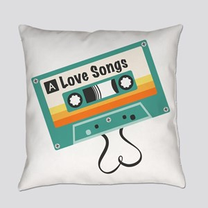 Love Songs Everyday Pillow