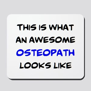awesome osteopath Mousepad