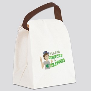 Groovier In Colorado Canvas Lunch Bag