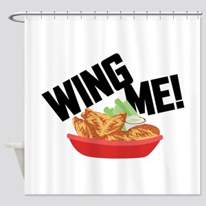 Wing Me! Shower Curtain