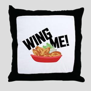 Wing Me! Throw Pillow