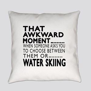 Water Skiing Awkward Moment Design Everyday Pillow