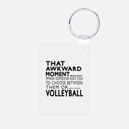 Volleyball Awkward Moment Keychains