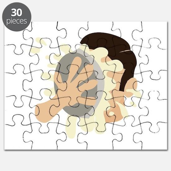 Pie In Face Puzzle