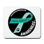 Addison's Awareness Mousepad (black Circle)