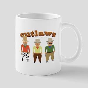 Shooting Gallery Outlaws Mugs