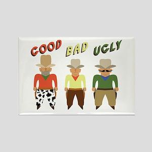Good Bad Ugly Magnets