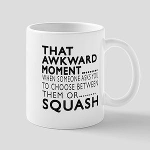 Squash Awkward Moment Designs Mug