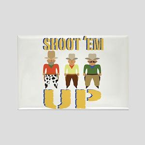 Shoot Em Up Magnets