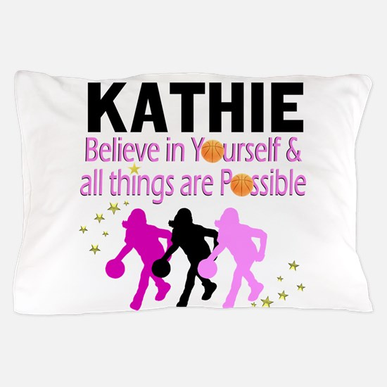 LOVE BASKETBALL Pillow Case