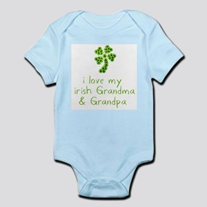 I Love my Irish Grandma & Gra Infant Bodysuit