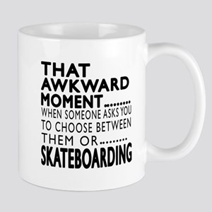 Skateboarding Awkward Moment Designs Mug