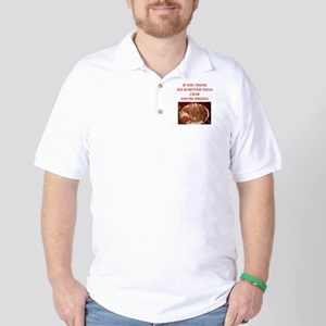 a funny food joke Golf Shirt