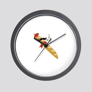 French Baguette Wall Clock