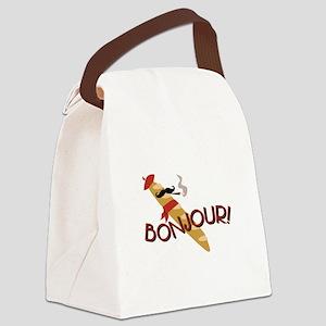 Oui-Oui! Canvas Lunch Bag