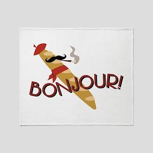 Oui-Oui! Throw Blanket
