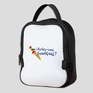 Parlez-vous Franais? Neoprene Lunch Bag