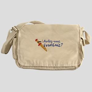 Parlez-vous Franais? Messenger Bag