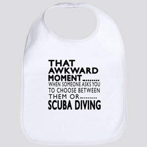 Scuba Diving Awkward Moment Designs Bib