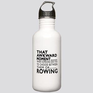 Rowing Awkward Moment Stainless Water Bottle 1.0L