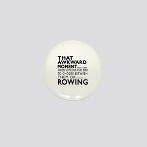 Rowing Awkward Moment Designs Mini Button