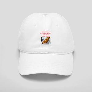 a funny food joke Baseball Cap